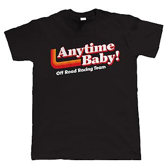 Vectorbomb, när som helst Baby, Mens Off Road Racing T Shirt (S till 5XL)