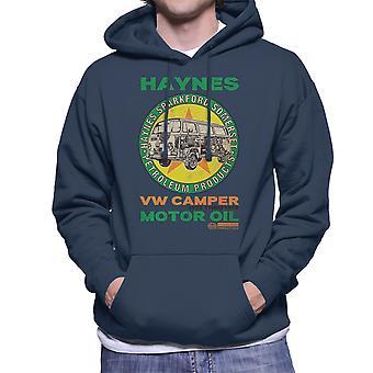 Haynes Brand VW Camper Motor Oil Men's Hooded Sweatshirt