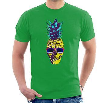Skull Pineapple Men's T-Shirt
