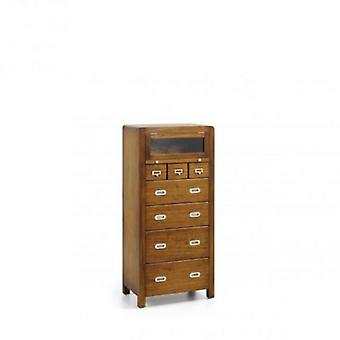 Moycor Commode High Flash 8 drawers 60x40x130 (Home , Bedroom , Chest of drawers)
