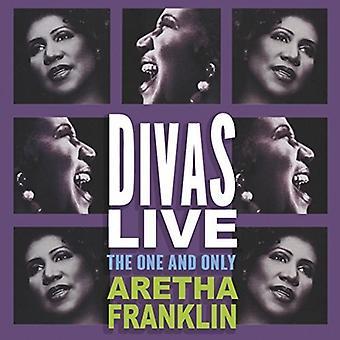 Aretha Franklin - importazione USA Divas Live [CD]