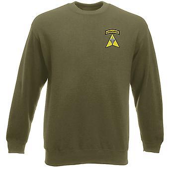 Forze speciali di esercito di Phillipine Airborne SFRA ricamato Logo - Heavyweight Sweatshirt