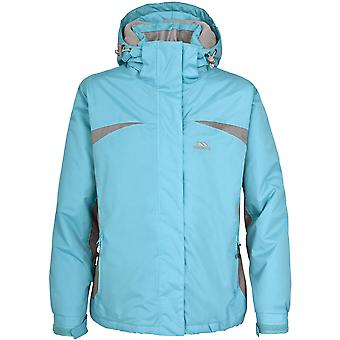 Trespass Youths Girls Amiata Zip Up Thermal Waterproof Ski Jacket