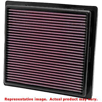 K & N Drop-in-High-Flow Luftfilter 33-2457 passt: DODGE 2011-2014 DURANGO V6 3.6