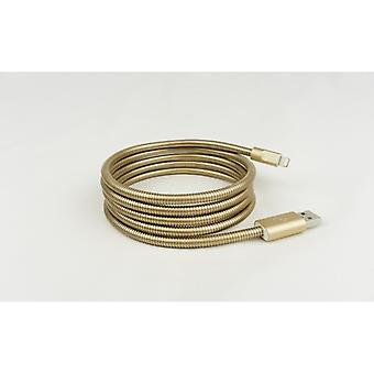 FUSE CHICKEN sync cable Lightning TITANIUM + 1.5 m Gold