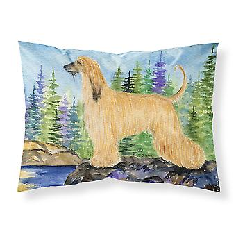 Carolines Treasures  SS8220PILLOWCASE Afghan Hound Moisture wicking Fabric stand