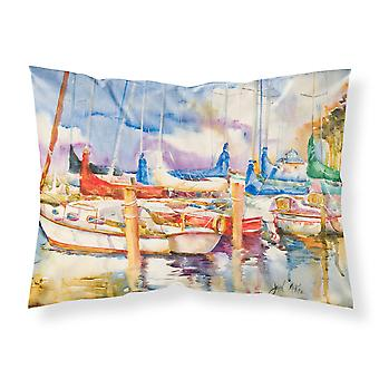 Run Away Sailboats Fabric Standard Pillowcase