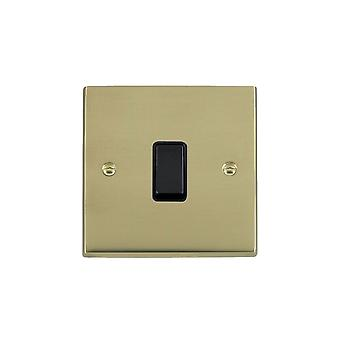 Hamilton Litestat Cheriton vitoriano polido bronze 1G 20AX DP Rocker BL/BL