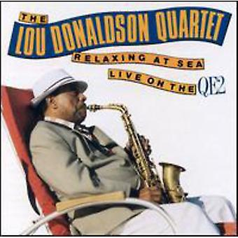 Lou Donaldson & Quartet Wit - Relaxin' at Sea: Live on the Qe2 [CD] USA import