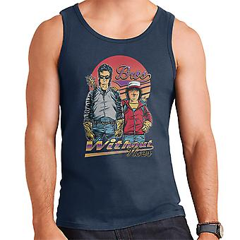 Stranger Things Bros Steve Dustin Men's Vest