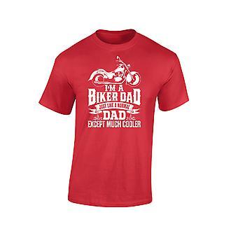 Jag är en Biker pappa utom mycket svalare Mens T-Shirt 10 färger (S-3XL) av swagwear