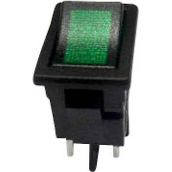 Toggle switch 250 V AC 6 A 2 x Off/On SCI R13-73C-