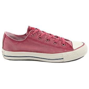 Converse Chuck Taylor All Star White Wash Shoes - Berry Pink
