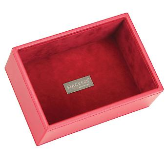 Red & Red Mini Deep Open Jewellery Tray