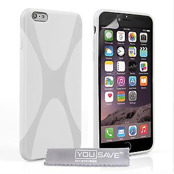 iPhone 6 Plus X-Line Ge Case - White
