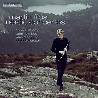 Hillborg / Holmboe / Rehnqvist / Frost / Salonen - Nordic Cons [SACD] USA import