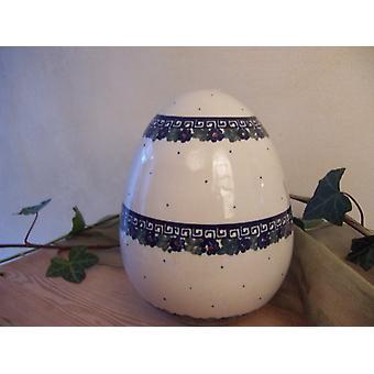 Oeuf de Pâques, 20 cm de hauteur, 52, glaçure fissures vaisselle porcelaine unique à bas prix - 2633 BSN