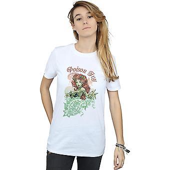 Poison Ivy Paisley Boyfriend Fit T-Shirt DC Comics féminines