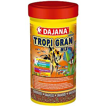 Dajana Tropi Granulo 250 ml (Fish , Food , Warm Water)