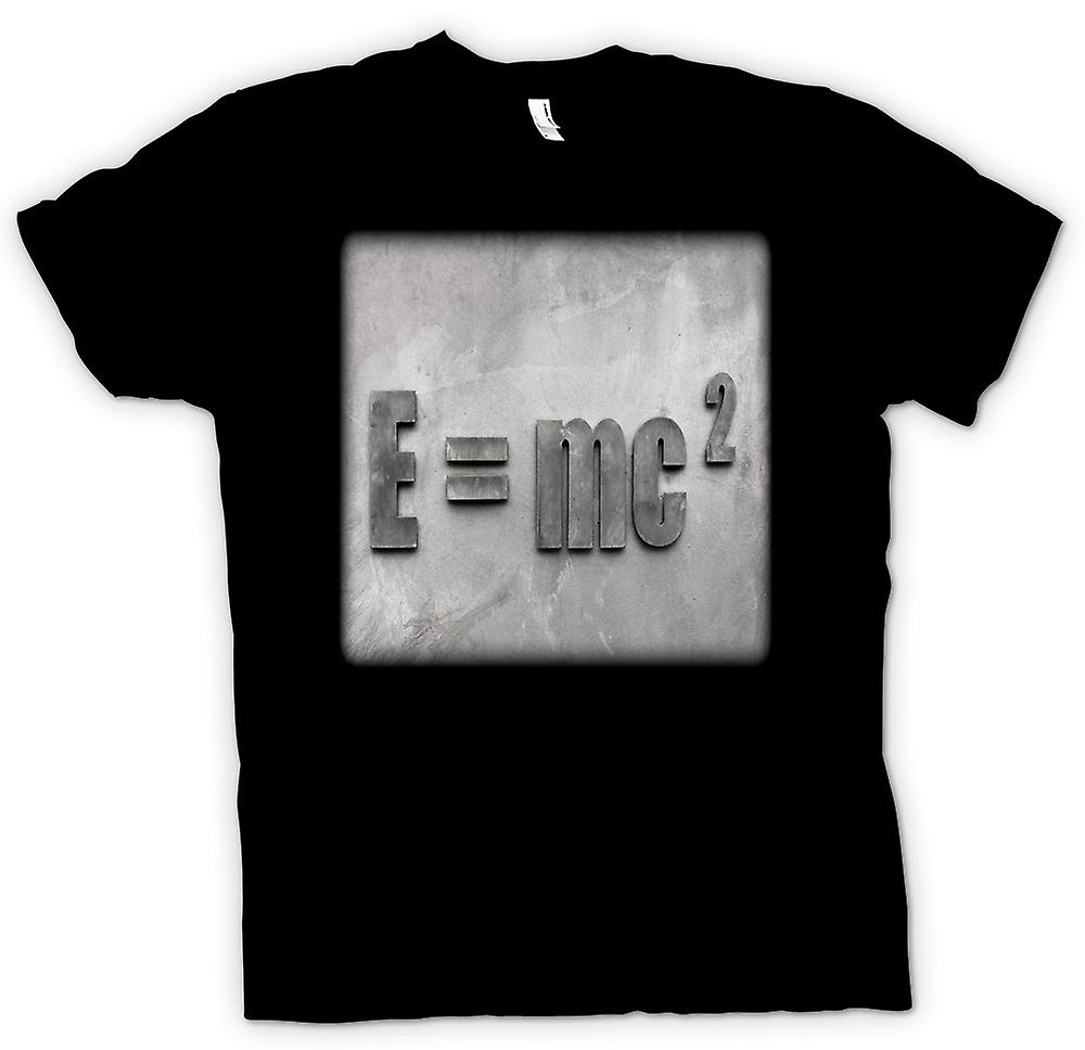 T-shirt-Einstein E = MC2