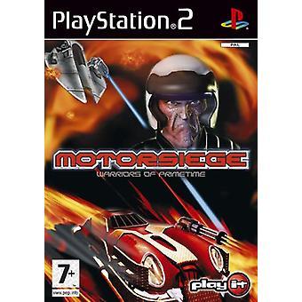Motorsiege strijders van Prime Time (PS2)