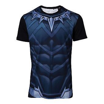 Black Panther Cosplay T-Shirt flerfarvet Medium (TS764820MVL-M)