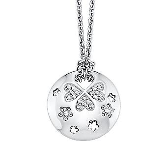s.Oliver Jewel Damen Kette Collier Silber Zyrkonia SO768/1 - 403658