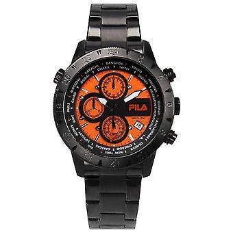 Fila mäns klocka chronograph rostfritt stål FA38-007-005