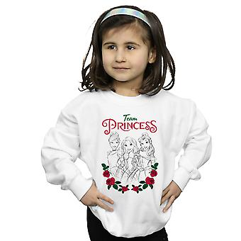 Disney Princess Girls Flower Team Sweatshirt