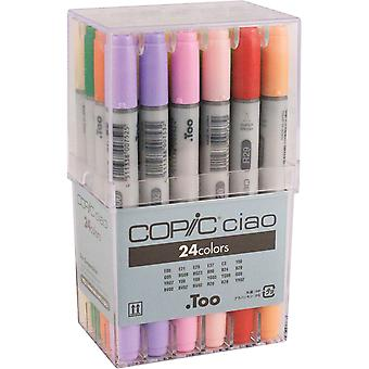 Copic Ciao Markers 24Pc Set