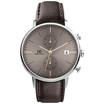 Danish design mens watch TIDLØS COLLECTION chronograph IQ48Q975