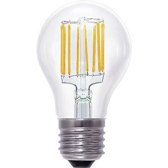 Segula LED E27 Arbitrary 8 W = 55 W Warm white (Ø x L) 60 mm x 105 mm EEC: A+ Filament, dimmable 1 pc(s)