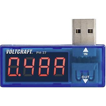 USB-adapter Digital VOLTCRAFT PM-37 katt jag Display (antal): 999