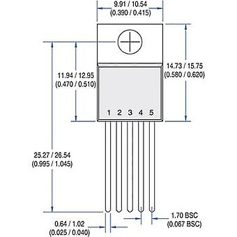 PMIC - gate drivers IXYS IXDN609CI Non-inverting Low side TO 220 5