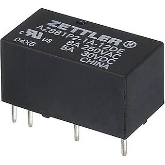 Zettler Electronics AZ881-2A-6DEA PCB relays 6 Vdc 5 A 2 makers 1 pc(s)