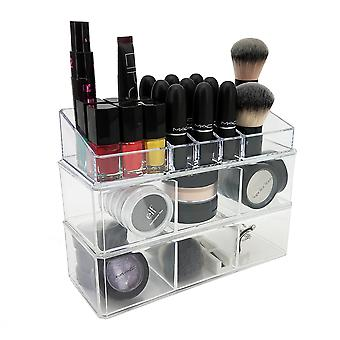 OnDisplay Madison 3 Tier Stacking Cosmetic/Jewelry Organizer Trays