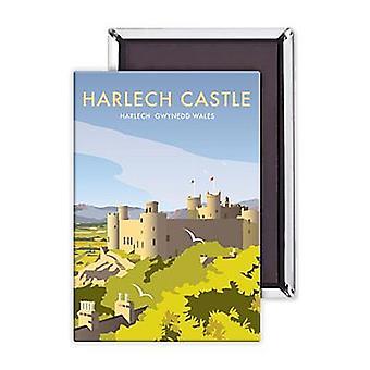 Harlech Castle Wales Fridge Magnet