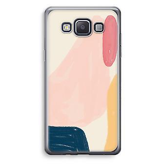 Samsung Galaxy A5 (2015) Transparent Case (Soft) - Saturday Flow