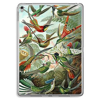 iPad Pro 9,7 pulgadas caja transparente (suave) - Haeckel Trochilidae