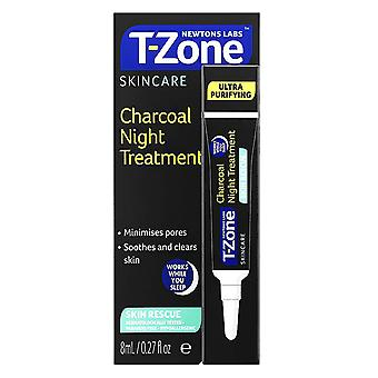 Newtons Labs T-Zone Skincare Charcoal Night Treatment 8ml