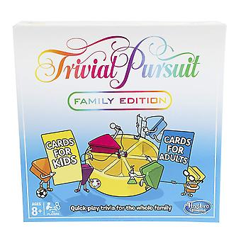 Trival Pursuit Family Edition Game Hasbro