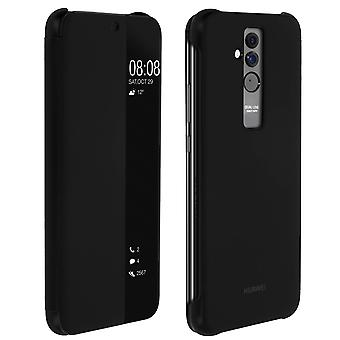 Official Huawei Smart View flip case for Huawei Mate 20 Lite - Black