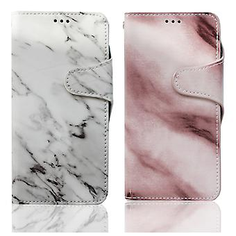 Wallet case marble - iPhone X / XS
