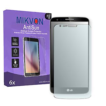 LG D801 G2 LTE Screen Protector - Mikvon AntiSun (Retail Package with accessories) (reduced foil)