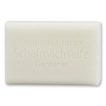 Florex Schafmilchseife - Gardenie - sanfte Reinigung und luxuriöser Duft 100g