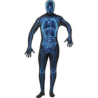 X-Ray Kostüm, zweite Haut Anzug.  Brust 38