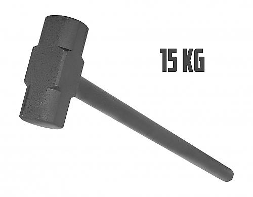Marteau en acier de gymnastique 15kg