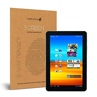 Celicious Privacy 2-Way Anti-Spy Filter Screen Protector Film Compatible with Samsung Galaxy Tab 10.1