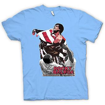 Koszulka męska - Rocky Balboa - odwaga - Boks film
