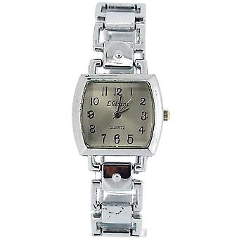 The Olivia Collection Ladies Square Silver Dial Bracelet Strap Dress Watch COS46